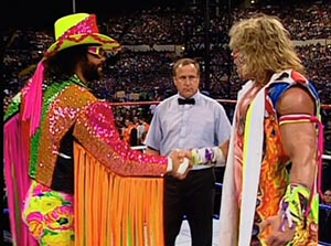 randy savage ultimate warrior