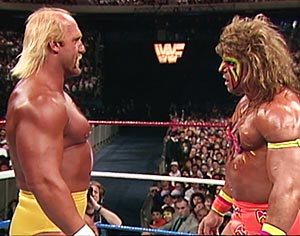 ultimate warrior hulk hogan