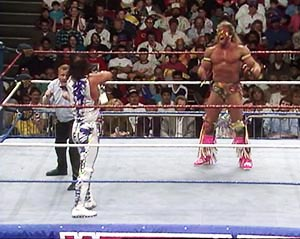 ultimate warrior randy savage