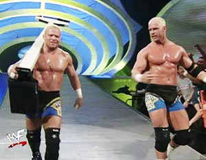 Mostly utilized for comic relief, Crash Holly played the big hearted little brother of Hardcore Holly. photo: wwe.com