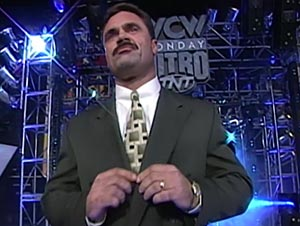 rick rude appears on nitro and raw on the same night