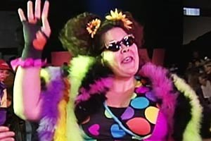 Bertha Faye - dead at 40 from heart attack. photo: wwe.com