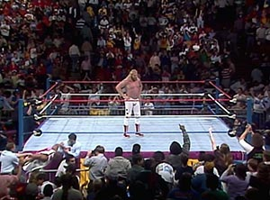 Studd wins the 1989 Royal Rumble in Houston. photo: wwe.com