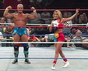 "Skip and Sunny made their WWF debut as ""The Bodydonnas"" in 1995. photo: wwe.com"