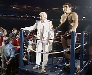 andre the giant bobby the brain heenan
