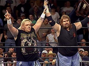 ECW 1999: Balls Mahoney and Axl Rotten. photo: wwe.com