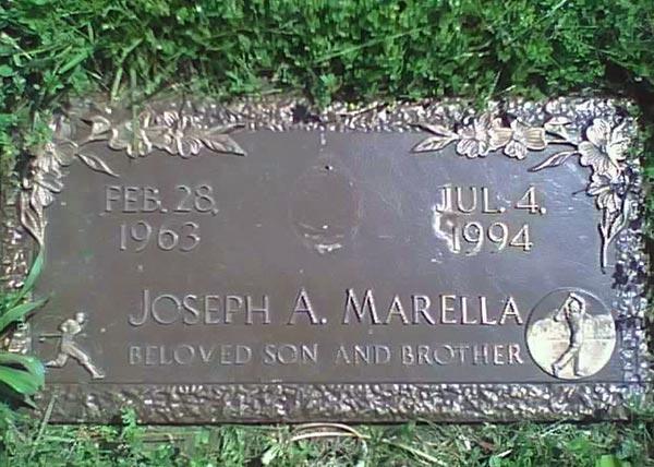 joey marella grave